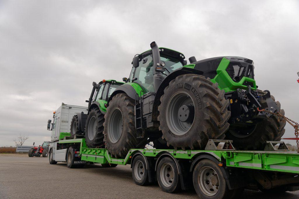 Transport Tracteur agricole Deutz Farh