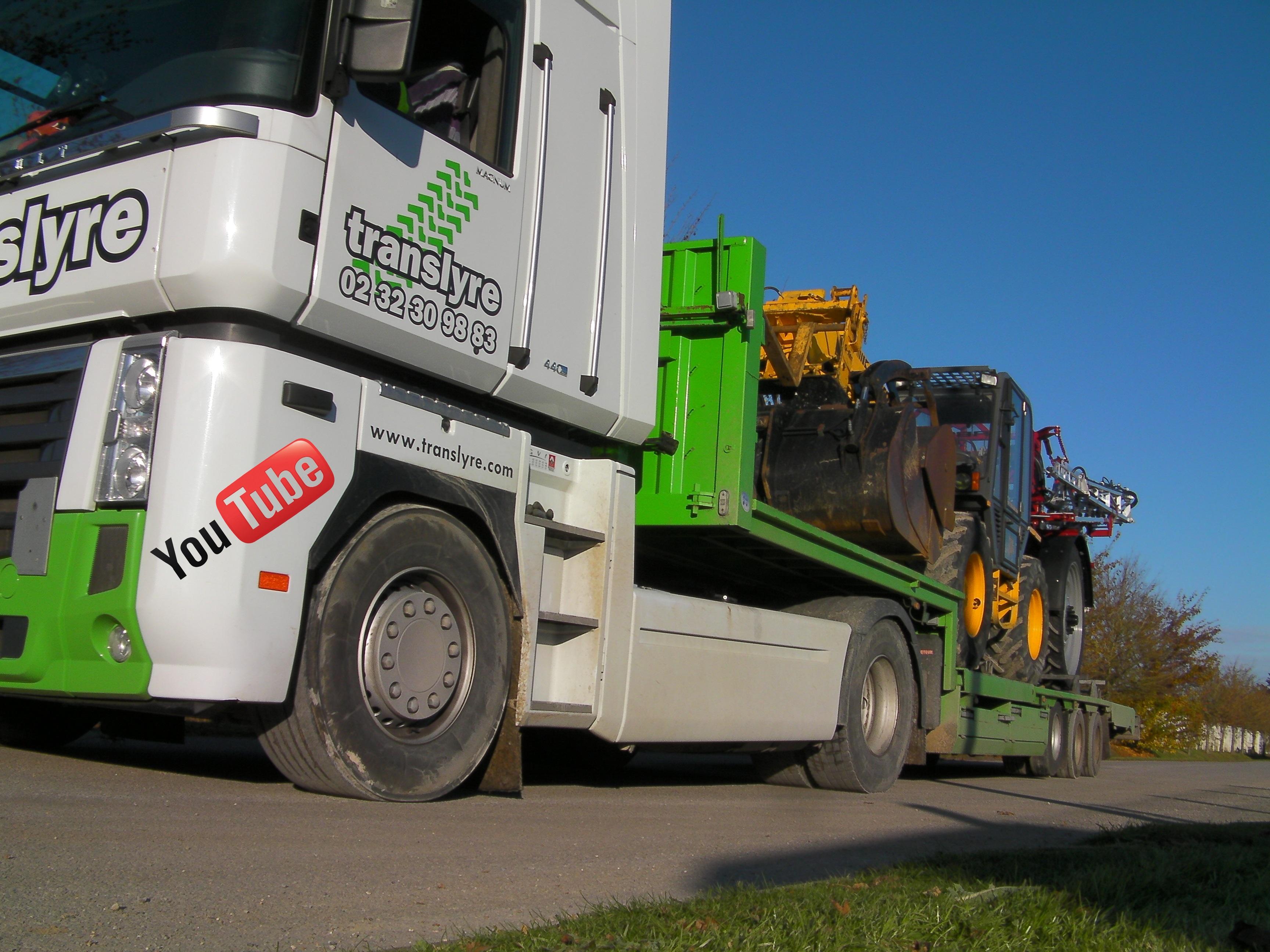 translyre-transport de matériel agricole- transport de moissonneuses batteuses