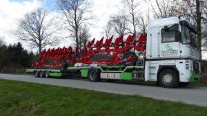 transport charrues, translyre, transport matériel agricole, transport déchaumeur, transport decompacteur